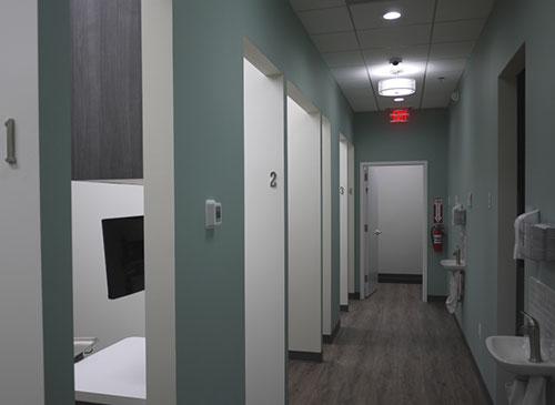 New Look Dental Care Hallway