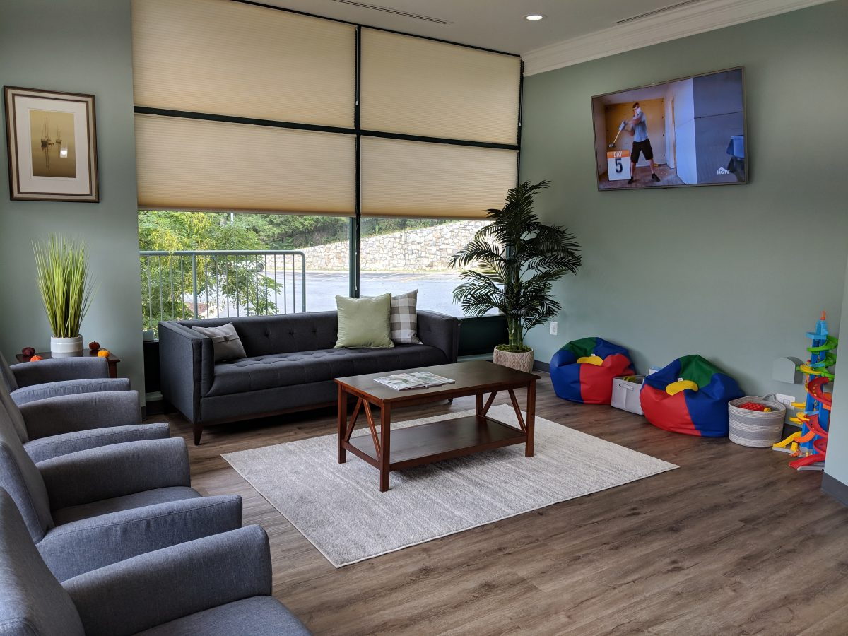 New Look Dental Care Waiting Room